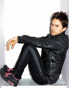 Jared Leto - I've been trying for years to work out what label trainers those were... NIKE! (BTYC)