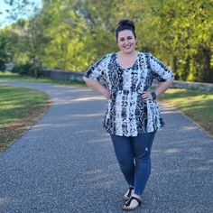 LuLaRoe Jana Review Recently, LuLaRoe launched a new shirt called the Jana. I was lucky enough to get my hands on one as a brand ambassador, so I have a little inside knowledge on this style. Because of how my Jana fit, I decided to order them to carry in the shop. Well, my Jana's are here, so it's time to review them! Here it is, my honest LuLaRoe Jana review!