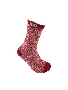 Norwegian wool socks