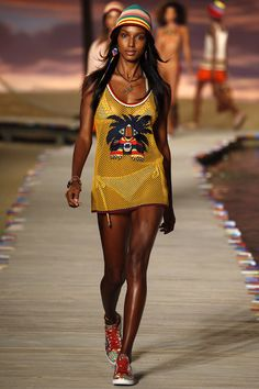 Tommy Hilfiger Spring 2016 Ready-to-Wear Fashion Show - Jasmine Tookes  #TommyHilfiger