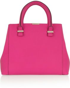 Victoria Beckham Quincy leather tote on shopstyle.com
