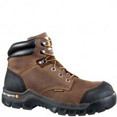 CMF6380 Carhartt Men's Rugged Flex BRN Safety Boots - Dark Brown www.bootbay.com