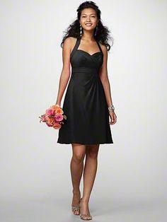 Discount Bridesmaid Dress_black