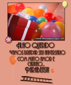 Aniversário de Filhos - Mensagens para Facebook