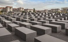 Top 6 Historical Sites in Berlin - Holocaust monument Precast Concrete Slabs, East Side Gallery, Berlin Travel, Barcelona, Brandenburg Gate, Berlin Wall, Going On Holiday, Famous Places, Berlin