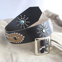 Un favorito personal de mi tienda Etsy https://www.etsy.com/es/listing/268011590/western-belt-rockabilly-handmade-studded