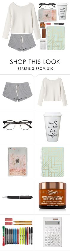 """Study for contest"" by emily-2024099 ❤ liked on Polyvore featuring American Vintage, Monki, Skinnydip, Vera Bradley, TrackR, Kiehl's, Muji, Etienne Aigner and contesr"