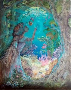 Portal to the Ocean by Josephine Wall