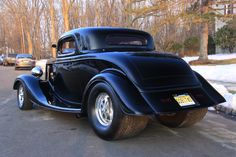 """Frederick Gibbon Says, """"Saw you guys have a section for customer cars. Had to send you my 1934 Ford 3 Window Coupe built with a ton of Jegs parts!! This car is completely bitchin'. Thanks Jegs!!!"""" #fordfriday"""