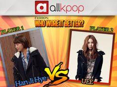 Who Wore it Better: Han Ji Hye vs. UEE