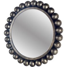 Mercana Orbit I Silvertone Metal Round Wall Mirror, Silver My Mirror, Mirror Wall Art, Round Wall Mirror, Round Mirrors, Glass Mirrors, Metal Mirror, Mirror Shapes, Mirrors Wayfair, Frames On Wall