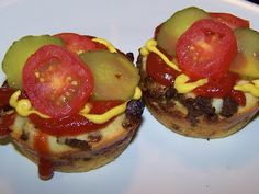 EZ Gluten Free: Gluten Free Bacon Cheeseburger Impossible Pies
