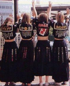Remembering Japan's badass 70s schoolgirl gangs   Dazed
