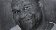 """Name: #BobSapp #ボブサップ #ProffesionalWrestling, #Actor, #AmericanFootballPlayer Features - Graphite pencils on paper 180g / m² - Signed by the artist Measurements - 61 x 34 cm / 24"""" W x 13"""" H Inch Video on YouTube ↓ https://youtu.be/vsw0s5Y8dyE #Art #Drawing #CreationByKK"""