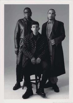 Male Fashion Trends: Vitali Gelwich captura el estilo en familia para L'Officiel Hommes Alemania