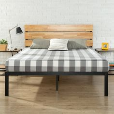 Sonoma Metal/Wood Platform Bed