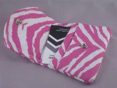 Pink Zebra Card Holder $10