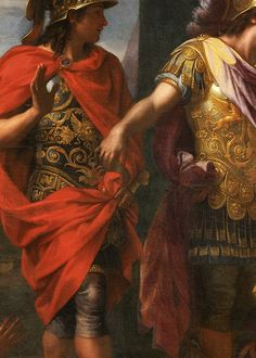 Charles Le Brun, The Queens of Persia at the Feet of Alexander (detail), ca. 1660