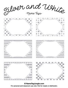 Place Card Template  Printed  Up  Bridal Shower
