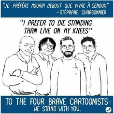 They stuck by that to the very end. RIP - http://holesinthefoam.us/bravecartoonists/