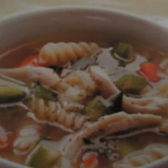 Gluten Free Quick & Healthy Chicken Noodle Soup
