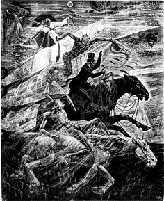 The Four Horsemen of the Apocalypse by Victor Delhez (1902–1985)