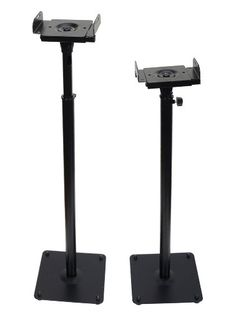 VideoSecu One Pair of Adjustable PA DJ Club Satellite Speaker Stands for Front or Rear Surround Loudspeakers CYD ** To view further for this item, visit the image link.