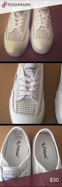 48f3c0fc1f11a9 Feiyue Sneakers These are new without tags. These are the perfect spring and  summer light