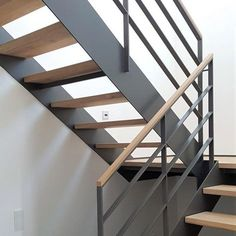 Pale White, Floating Staircase, Swedish Design, Staircase Design, Apartment Design, Stairways, Sweet Home, Interior Design, House