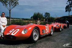 Maserati - Atmosphere Targa Florio (1956)