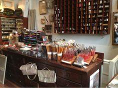Parisian art supply store:  Charvin