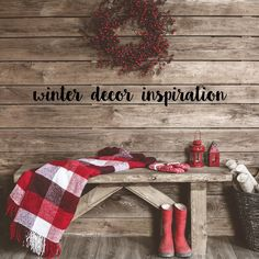 isit the for decor inspiration to incorporate this season! Christmas Stockings, Seasons, Make It Yourself, Create, Holiday Decor, Simple, How To Make, Blog, Inspiration