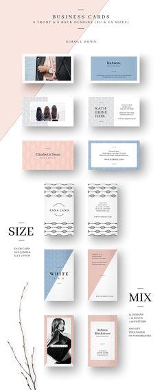 MALINA Business Cards + Logos - Business Cards - 5