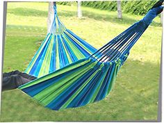HK Camping Hanging Double Wide Cotton Hammock Sleeping Bed *** Find out @ http://www.buyoutdoorgadgets.com/hk-camping-hanging-double-wide-cotton-hammock-sleeping-bed/?op=260616190036