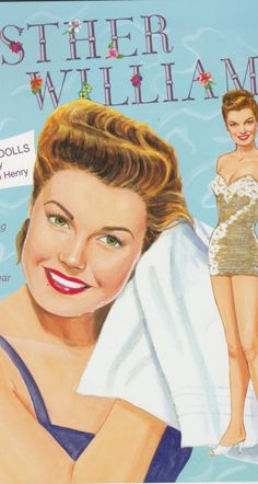This #Mumma loves #paper dolls none more so than the #EstherWilliams ones