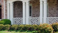 Chippendale Porch Railing | Wood Deck Railings | Porch Railings | Wood Balusters
