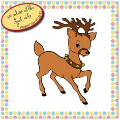 Reindeer svgreindeer cut filerudolph svgchristmas