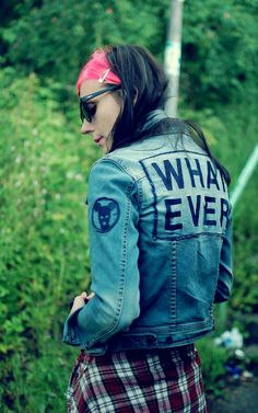 CUSTOM DENIM JACKET :P