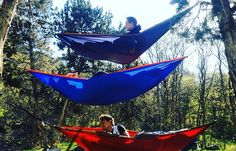 It's getting cold but never stop doing what you love because of a little weather. #grandtrunking #hammocking #hangloose