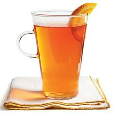 Orange Spiced Tea Recipe | Enjoy this soothing citrus sipper with a warm biscuit or muffin. | SouthernLiving.com