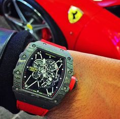 Richard Mille RM35-01 Rafael Nadal worn by @youcanneverhaveenough on Instagram.