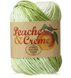 Peaches Creme 100 Cotton Worsted Weight Yarn 177 For 25