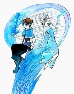 Sora & Elsa - mrbenvey artwork
