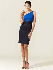 One Shoulder Knit Dress by Zac Posen at Gilt