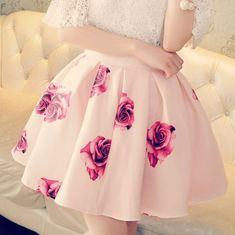 Imagem de fashion, pink, and skirt