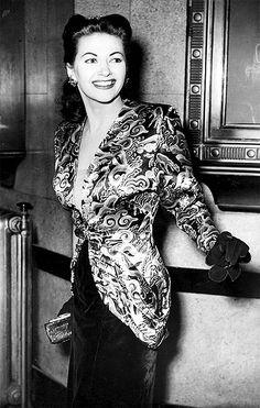 Yvonne De Carlo, circa 1940s.