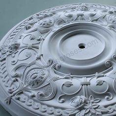 Ornate Victorian Plaster Ceiling Rose 710mm Dia LPR011