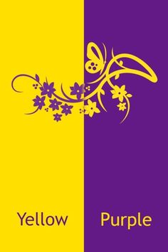 Purple & Yellow Teal Yellow, Purple Love, Shades Of Yellow, Yellow And Brown, Mellow Yellow, Pink Purple, Purple Wallpaper, Purple Backgrounds, Red And Blue Logo