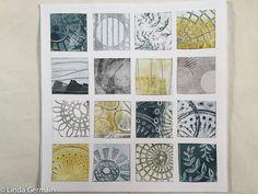 High Contrast Images, Gelli Plate Printing, Stamping Tools, Mark Making, Gelatin, Got Print, How To Make Paper, Line Design, Printmaking