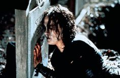Brandon Lee as The Crow Bruce Lee, Brandon Lee, The Crow, Crow Movie, I Movie, Stairway To Heaven, Crow Costume, Crow Mask, When Someone Dies